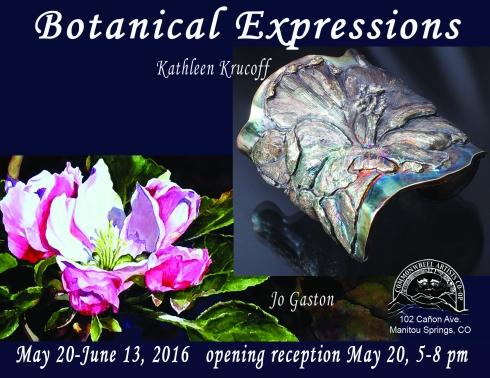 Botanical Expressions postcard